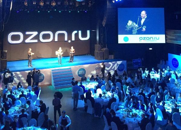 OZON.ru, лидирующий онлайн-магазин в России, объявляет победителей в рамках  собственной премии OZON.ru ONLINE AWARDS 56ea90b62db