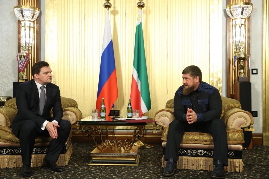 Кадыров договорился осоздании хаба «Почты России» вГрозном