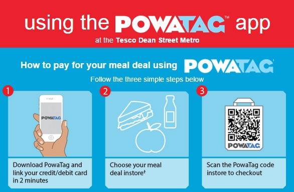 Tesco tests PowaTag mobile payments - Information portal