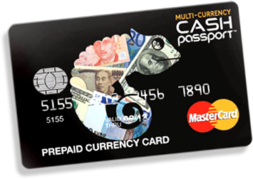 Cash Passport Prepaid Currency Card