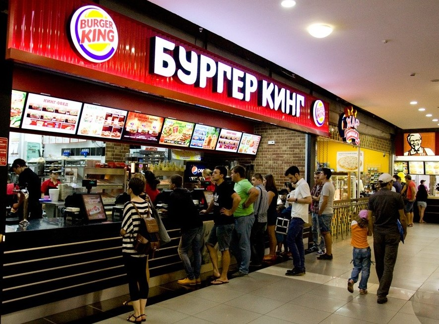 В «Бургер Кинге» кофе «американо» переименовали в«руссиано»