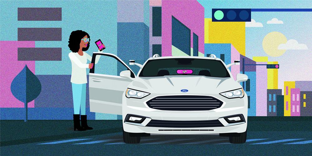 Форд иLyft совместно займутся продвижением беспилотных такси