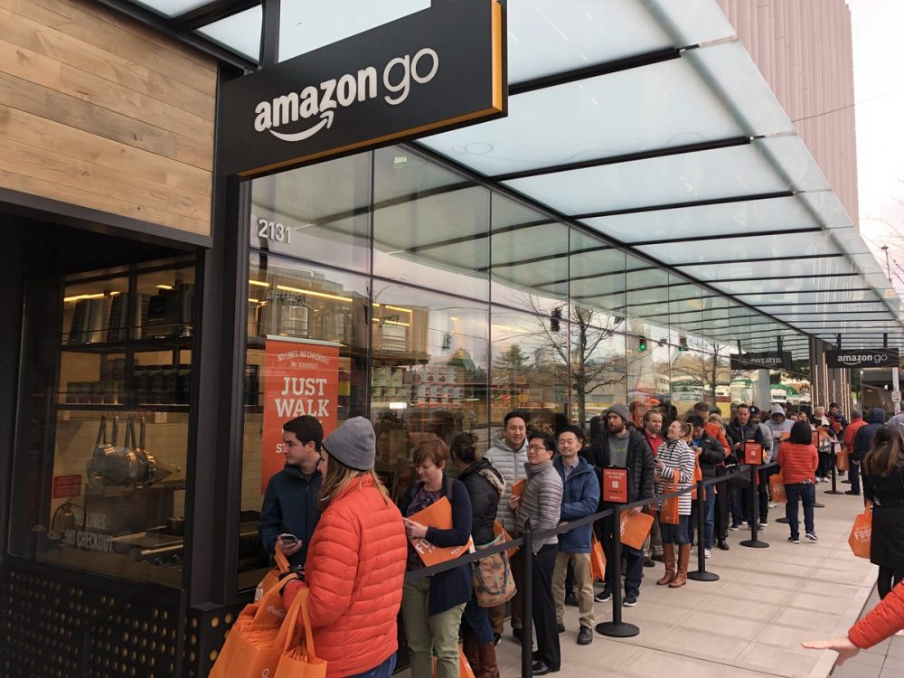 Amazon Go: очереди избежать неудалось