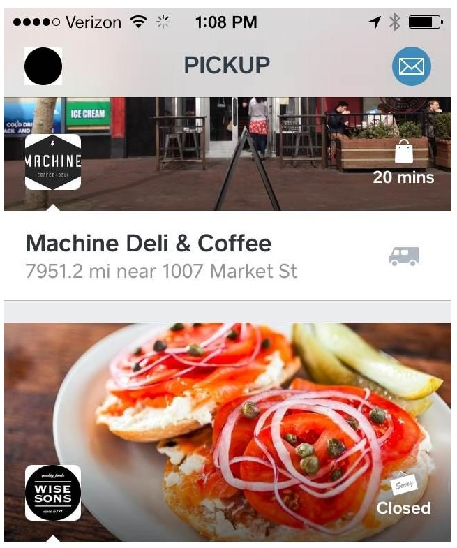 Square Tests Food Ordering App