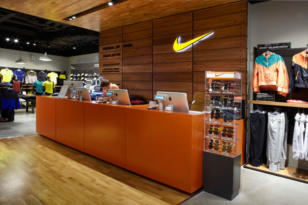 84e2bbfd Флагманский магазин Nike откроется в Москве весной 2017 года ...