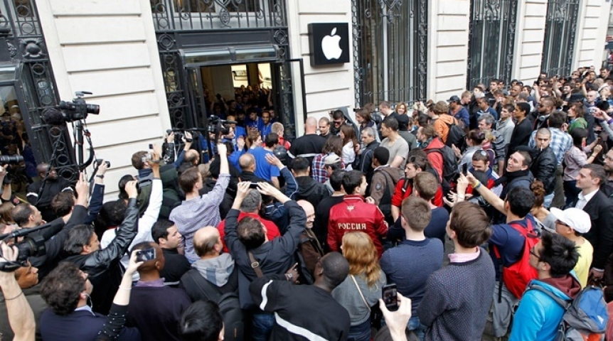 ВНовосибирске в реализацию поступили iPhone 7