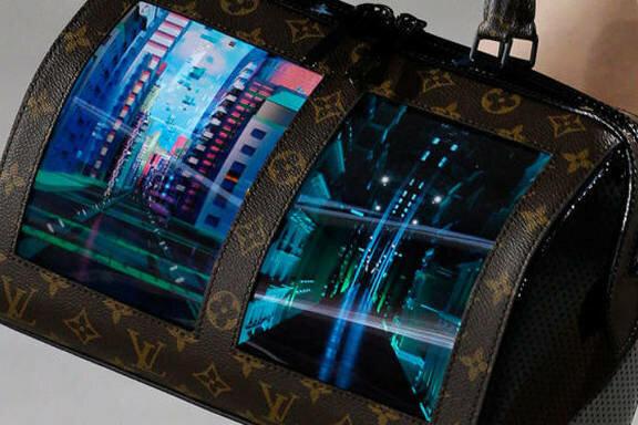7c003dbb9ae6 Louis Vuitton презентовал сумки с гибкими экранами - Информационный ...