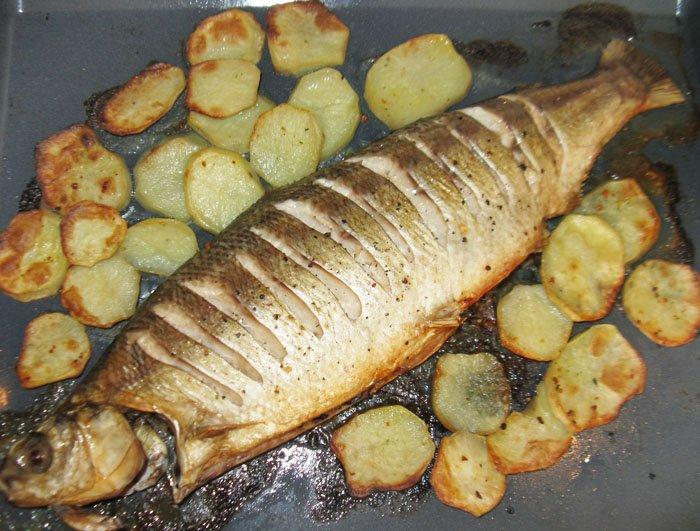 белорыбица в духовке рецепты с фото