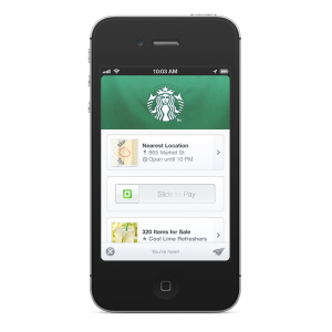 mobile payment starbucks